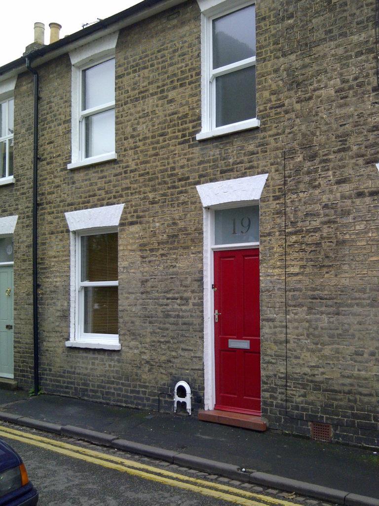 "new PVC ""Period Sash Windows"" <br>Plus Traditional 4 Panel Door"